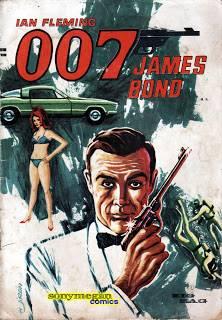 James Bond 007 Año 01 N° 01. Comic de Colección