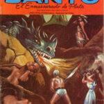 Santo el Enmascarado - Prisionero en el Submarino Historieta #104