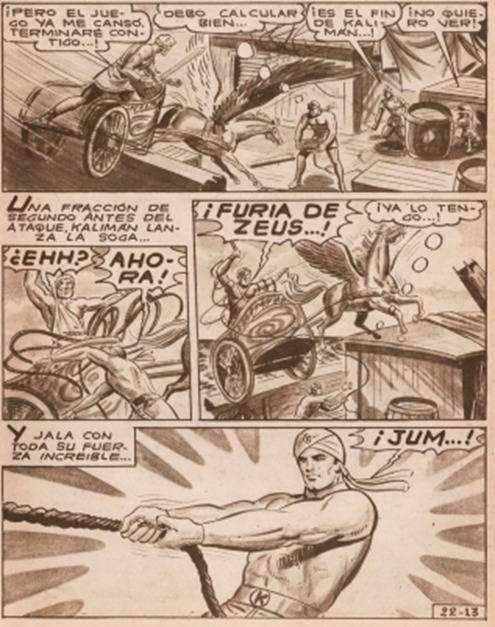 Descargar Historieta de Kalimán contra Hércules
