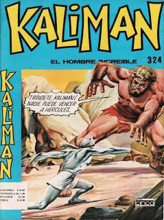 Kalimán contra Hércules Historieta # 324