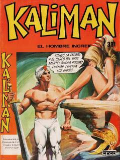 Kalimán en el Castillo de Poseidón Historieta # 331