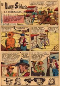Historieta El Llanero Solitario Comics