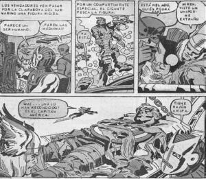 El Capitán América se une a los Vengadores