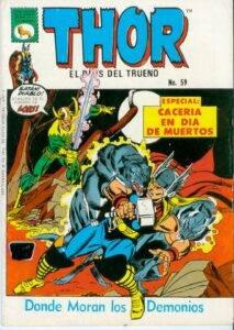 Thor - Cacería en Día de Muertos Historieta N° 59