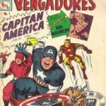 Histórica Historieta Nro 01 Capitán América y los Vengadores